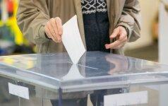 Per dvi išankstinio balsavimo dienas balsavo beveik 69 tūkst. rinkėjų