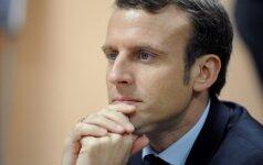 E. Macronas: pašalinti Sirijoje B. Al Assadą nebėra prioritetas
