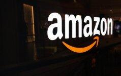 """""""Amazon"""" ataskaita nusmukdė interneto mažmenininkės akcijas"""