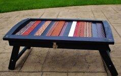 Darau pats: seno staliuko atnaujinimas naudojant odinius diržus