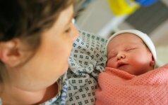 Po natūralaus gimdymo - pavojinga komplikacija skaitytojos istorija