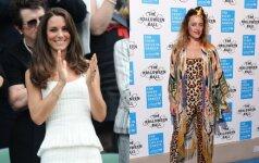 Kas kuria sukneles Kate Middleton: karališkosios dizainerės įvaizdis glumina