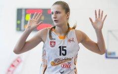 """Kibirkštis"" EEWBL čempionate nugalėjo ""Cmoki-Minsk"" krepšininkes"