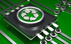 Tyrimas: lietuviai elektronikos atliekas meta į bendrą konteinerį arba kaupia namuose