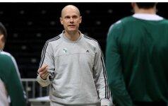 """""""Žalgirio"""" treneris S. Štombergas prieš rungtynes su """"Maccabi"""": turėsime daug darbo"""