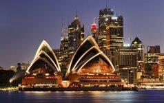 Lėtėja Australijos ekonomikos augimas