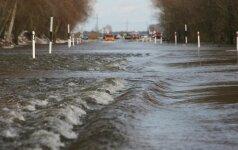 Ateityje potvyniai Lietuvos pajūryje nuožmės