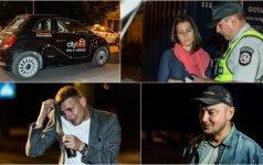 Pašėlusi naktis Vilniuje: girtas taksistas važiavo žvejoti, o dar girtesnis vaikinas — atsipalaiduoti