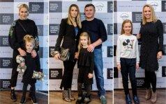 Nijolė Pareigytė-Rukaitienė su dukra, Bosų šeima, Violeta Tarasovienė su dukra