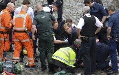 Londone pagerbtas teroro išpuolio aukų atminimas