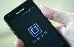 """""""Uber"""" ketina klientams išmokėti milijonus dolerių"""