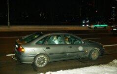 Sostinėje plinta nauja mada: vairavimas neturint vairuotojo pažymėjimo