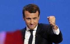 Programišiai nusitaikė į E. Macroną - įtaria rusus