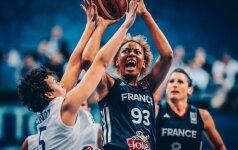 Dėl Europos čempionato aukso finale susigrums Ispanijos ir Prancūzijos krepšininkės