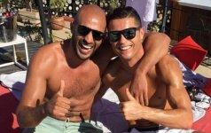 Kikboksininkas, įtariamas homoseksualiais santykiais su Cristiano Ronaldo, sulaikytas Maroke