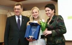 Lietuvos sporto žurnalistai geriausiais 2013-ų sportininkais išrinko R. Meilutytę ir J. Kinderį
