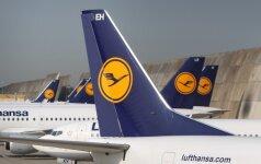 """""""Lufthansa mažina išlaidas"""
