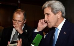 S. Lavrovas ir J. Kerry