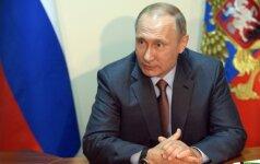 Kremlius praneša apie V. Putino vizitą į Japoniją
