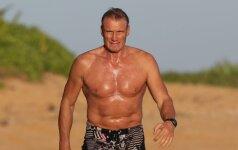 Dolphas Lundgrenas nesensta: 58 metų Holivudo blogiukas stebina savo raumenynu
