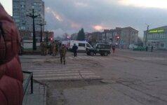 Ukrainos šaudmenų sandėlyje – virtinė sprogimų, evakuota tūkstančiai žmonių
