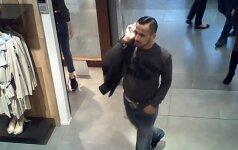 Kauno pareigūnai ieško stilingo vyro, kuris turėtų žinoti, kur dingo striukė