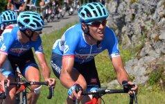 """""""Tour de France"""" pragarą įveikęs R. Navardauskas: smagu, kad kovėmės iki pat paskutinės dienos"""