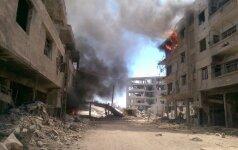 JT Saugumo Taryba sekmadienį svarstys padėtį Sirijoje