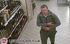 Policija prašo atpažinti nemokamai išgerti mėgstantį jaunuolį