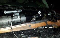 Tramdant moderniausia technika apsiginklavusį brakonierių prireikė ir specialiųjų priemonių