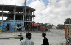 Somalio sostinėje per sprogimą žuvo trys žmonės