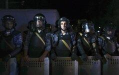 Užpuolikai Jerevane įkaitais paėmė keturis gydytojus