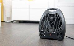 Namuose naudojamų šildytuvų tipai: kuris geriausias?