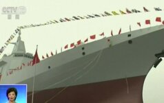 Kinija pristato naujos kartos eskadrinį minininką