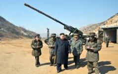 Šiaurės Korėjoje padidintas maisto davinys