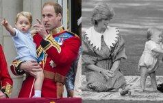 Princas Williamas ir princesė Diana