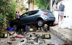 Graikijos ir Turkijos kurortams smogė žemės drebėjimas, žuvo mažiausiai du žmonės