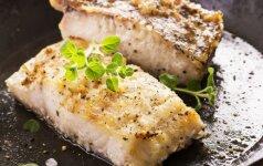 Patarimai, kaip skaniai iškepti žuvį