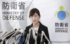 Atsistatydino į skandalą įsivėlusi Japonijos gynybos ministrė