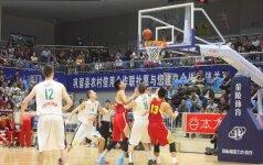 Lietuvos aštuoniolikmečiai tęsia rungtynių seriją Kinijoje