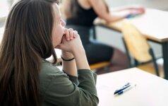 Psichologė pataria abiturientams, kaip suvaldyti stresą dėl egzaminų