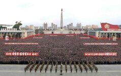 Rusija perspėja, kad karinga retorika prieš Šiaurės Korėją gali turėti baisiausių pasekmių