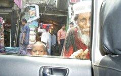Bangladešas. Išmaldos prašytojas