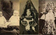 Kodėl senovinėse fotografijose mamos šalia savo vaikų atrodė tarsi vaiduokliai