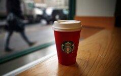 """JAV moteris iškėlė 5 mln. dolerių bylą """"Starbucks"""" dėl ledukų gėrimuose"""
