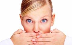 Kaip panaikinti blogą burnos kvapą?