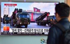 Šiaurės Korėjos branduoliniai bandymai priklausys nuo JAV