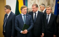 Eugenijus Jovaiša, Ramūnas Karbauskis, Saulius Skvernelis, Viktoras Pranckietis