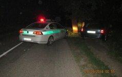 Policijos reidai virto nesėkmingais girtų vairuotojų nuotykiais