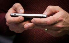 Rastais telefonais susigundę policininkai pagrįstai atleisti iš tarnybos